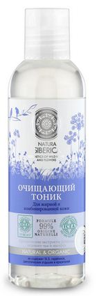 Nuoc hoa hong cho da dau Natura Siberica 99 phan tram thanh phan huu co