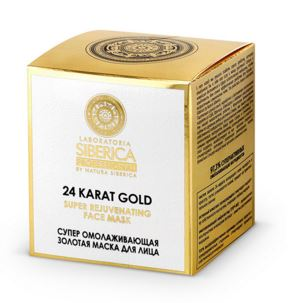 sieu mat na vang 24k Natura Siberica Super Gold