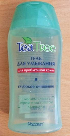 gel rua mat cho da mun chiet xuat tinh dau tra TEA TREE 7