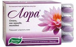 Vien uong axit hyaluronic LORA than duoc tre hoa lan da ,trang da va min muot