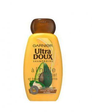 Dau goi dau Garnier Ultra Doux chiet xuat tinh chat bo cho toc kho va hu ton