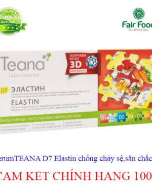 serum Teana D7 elastin chong chay se san chac da tang do dan hoi