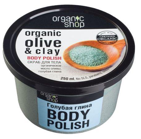 Kem tay da chet toan than Organic Shop dau Oliu va dat set xanh