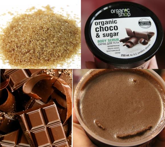 Tay da chet toan than Organic Shop chiet xuat cacao va duong mia3