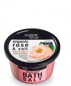 Muoi tam Organic Shop voi tinh dau hoa hong va muoi bien1