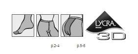 Quan tat Conte Nga model elegant triumf microfibra 80 DEN3
