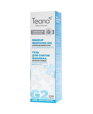 Gel tẩy trang cho da dầu, da hỗn hợp và da mụn TEANA G2 bổ sung dưỡng chất lactoferrin
