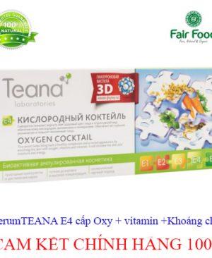 serum teana e4 cung cap oxy vitamin ,khoang chat xu ly da met moi