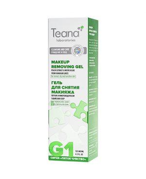 Mẫu cũGel tẩy trang êm dịu cho da thường, da khô và nhạy cảm TEANA G1