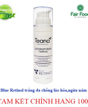 Kem blue retinol bi mat saphia trang da ngua nam, mun lao hoa da