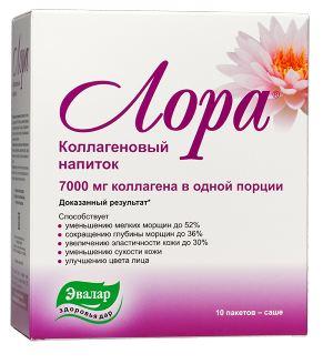 Collagen tre hoa lan da dang nuoc LORA bo sung axit hyaluronic lan da sang min ,khoe manh