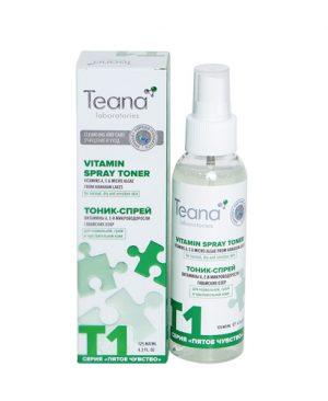 Nước hoa hồng kiêm xịt khoáng Teana T1 cho da khô ,nhạy cảm và bình thường