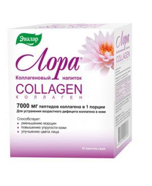Bot uong tre hoa lan da Lora collagen suc khoe va ve dep lan da ngan nam sam