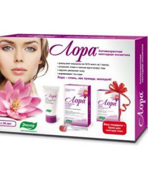 Bo san pham serum Lora cong nghe peptide Thuy Sy tre hoa da ,trang da ,kem lan kim Mesoroller1