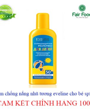 Kem chong nang nhu tuong Eveline cho be SPF50