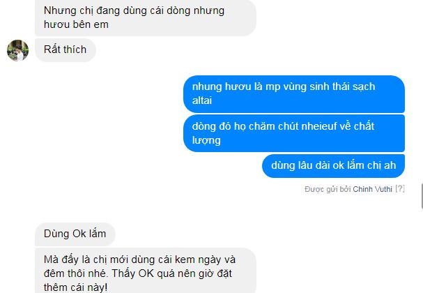 Review dong my pham nhung huou Silapant