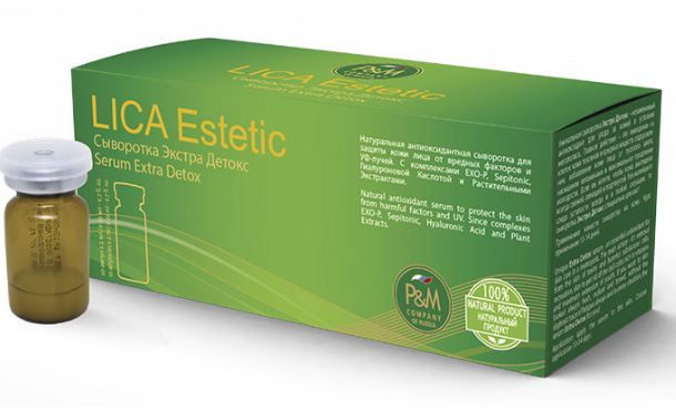 Serum extra detox Lica estetic thai doc cho da