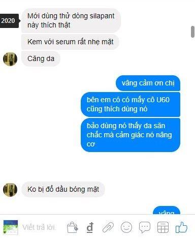review dong my pham silapant nhung huou cang bong da