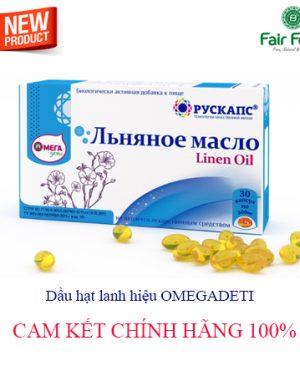 Dau hat lanh OMEGADETI chua luong Omega-3 PUFA cao nhat co loi cho suc khoe5