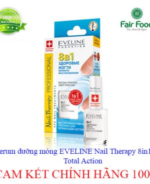 Serum duong mong EVELINE Nail Therapy 8in1 Total Action7