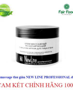 Kem massage thu gian NEW LINE PROFESSIONAL KORA cho da nhay cam