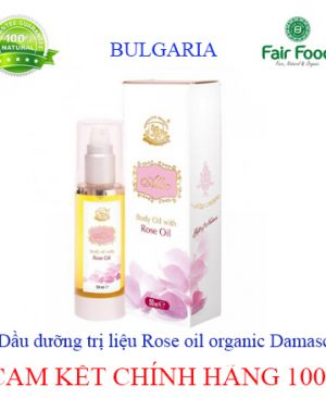 Dau duong body hoa hong DAMASCENA BULGARIA chinh hang tai FAIRFOOD1