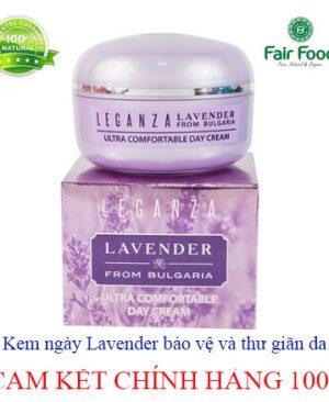 Kem ngay lavender bao ve va thu gian da chiet xuat hoa oai huong