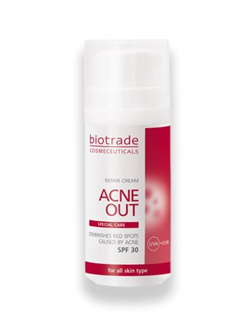 acne out repair cream ,KEM TRI mun tri tham ,duong am da mun BIOTRADE
