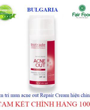 kem tri mun acne out Repair cream hieu chinh khiem khuyet cua da mun do ,trung ca