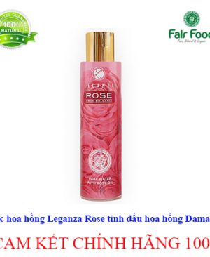 rose-water-nuoc hoa hong huu co LEGANZA ROSE chinh hang tai FAIRFOOD