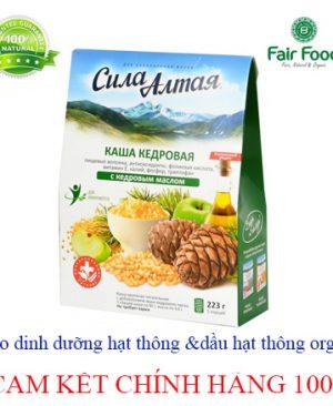 chao dinh duong hat thong va dau hat thong organic