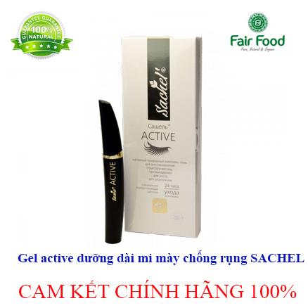 Gel active duong dai mi giu mi may chac kheo SACHEL cua NGA dau nguu bang fairfood4