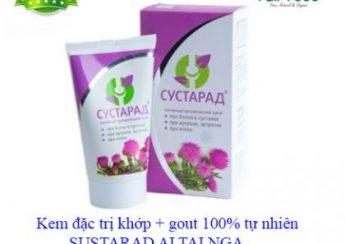 Review kem xoa bóp Sustarad thảo dược và nhung hươu giảm đau nhức cơ xương khớp