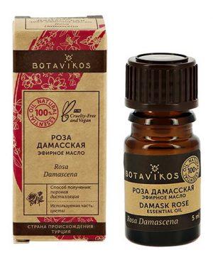 Tinh dầu nguyên chất hoa hồng Rosa damascena Botanika dưỡng da, thư giãn, trị liệu mùi hương