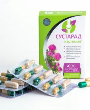 Viên uống xương khớp Sustarad tái tạo mô sụn giảm đau mỏi, chống viêm và chắc khỏe xương khớp