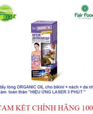 kem tay long huu co FITO cua NGA organic oil hieu ung laser, cham moc long moi fairfood