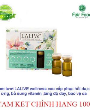 serum lalive wellness cao cap phuc hoi da,chong kich ung, bo sung vitamin, tang hang rao bao ve da