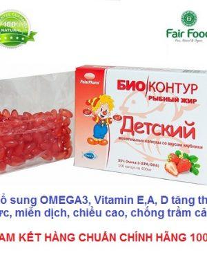 Dau ca cho be bo sung OMEGA 3 va vitamin tot cho he than kinh, tri nao, tang phat trien chieu cao, vi dau tay2