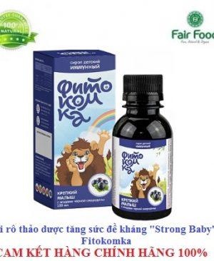 Siro thao duoc FITOKOMKA healthy baby nguon vitamin tu nhien tang de khang cho be chong virus cum,ho