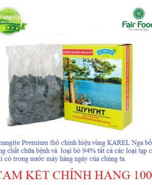 Da Shungite Premium tho chinh hieu vung KAREL Nga chat luong so 1 the gioi loc nuoc